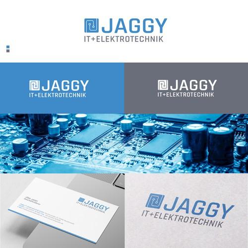 Logo proposal for a JAGGY IT & ELEKTROTECHNIK
