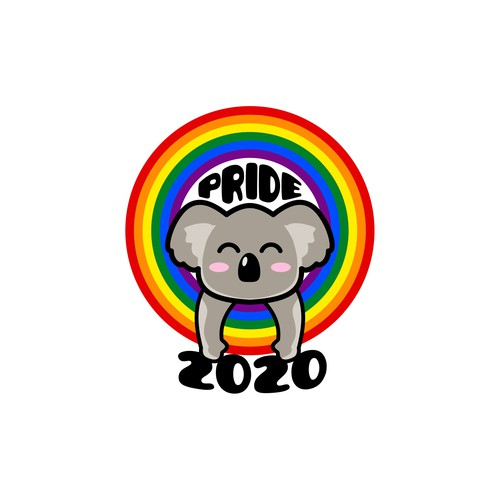 Logo concept pride 2020