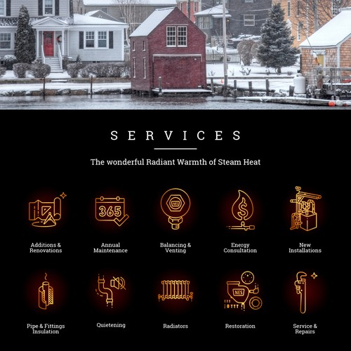 Professional Icons for New England Steamworks  ::  USA