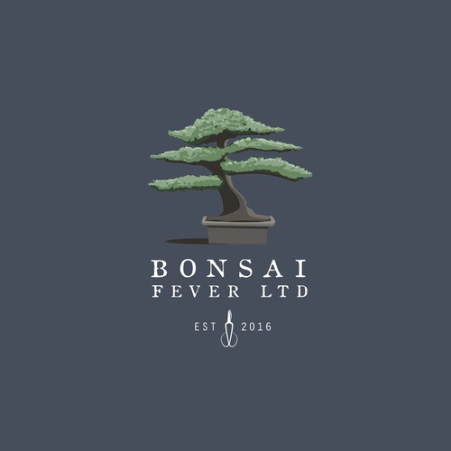 Bonsai Fever LTD logo Contest