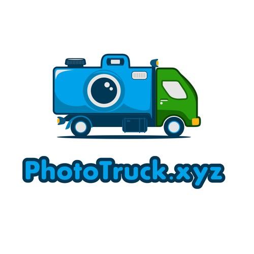 Logo consept for Truck Photo