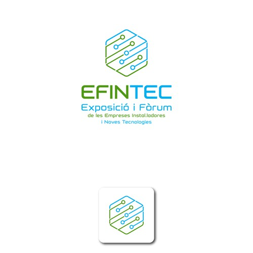 New Logo Concept for a Tech Startup