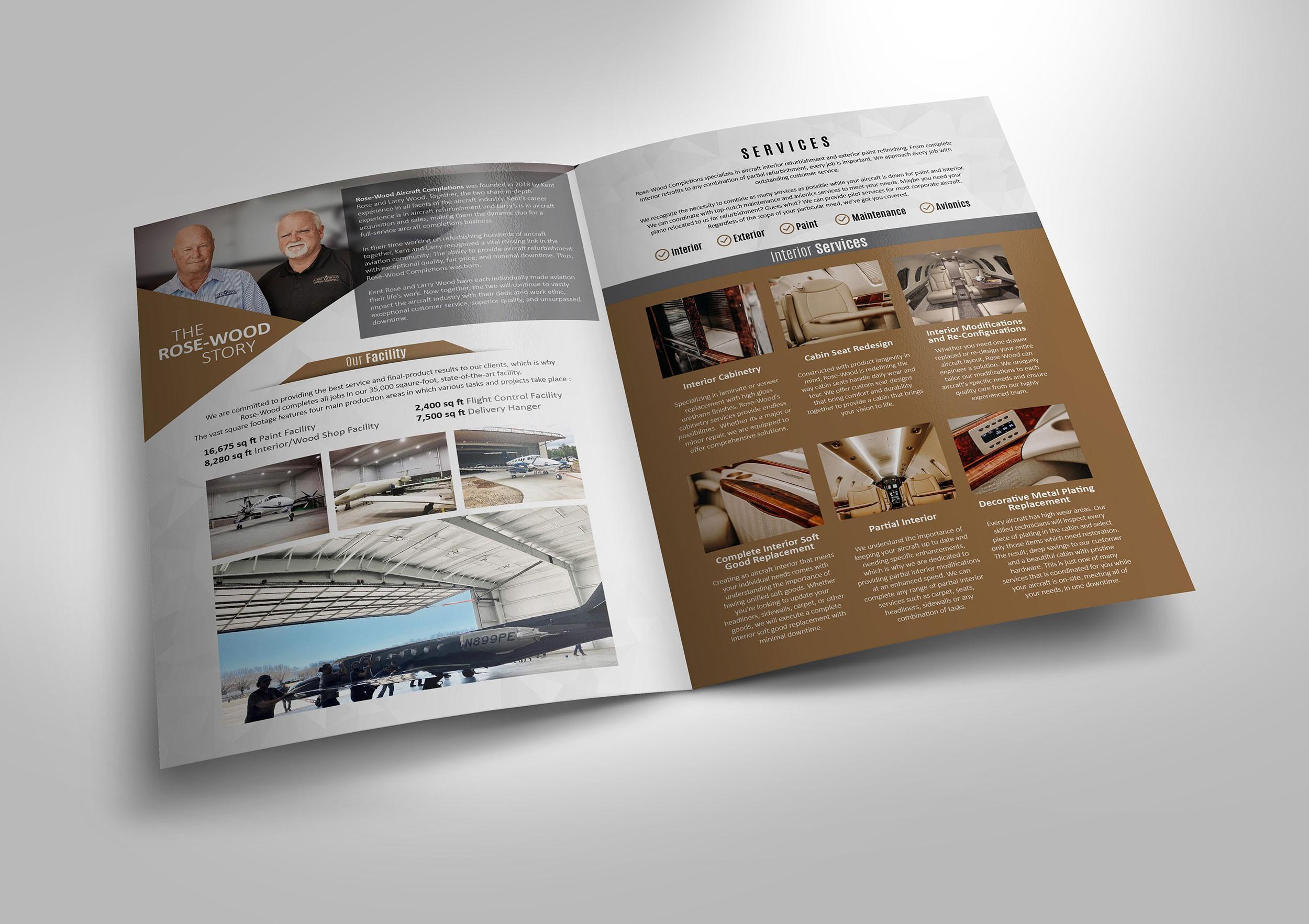 JETS! Easy money! Design brochure for Aviation
