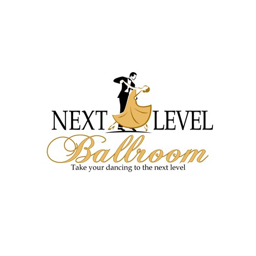 Logo for a ballroom dance studio