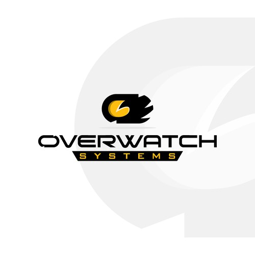 Masculine logo for Overwatch Systems