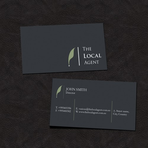 Business Card for The Local Agent