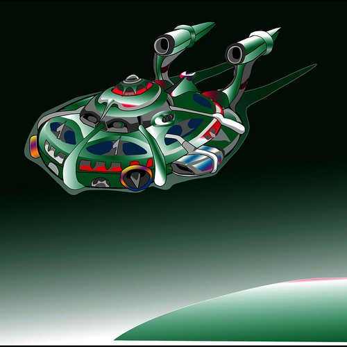 Space Design Ship XII
