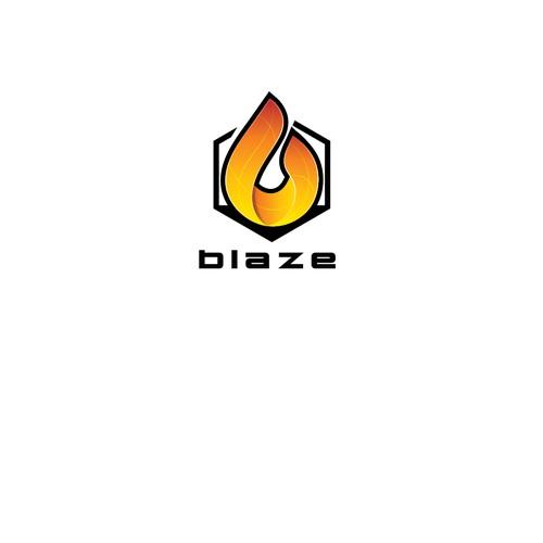 "Bold ""B"" Flame"