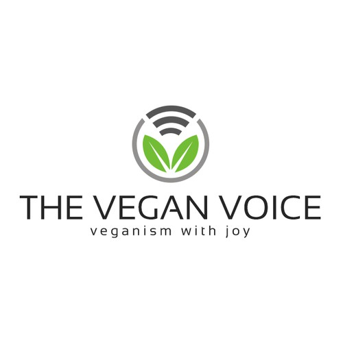 Design a new, modern logo for The Vegan Voice website.