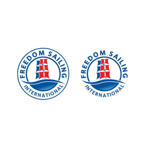 Logo for Freedom Sailing