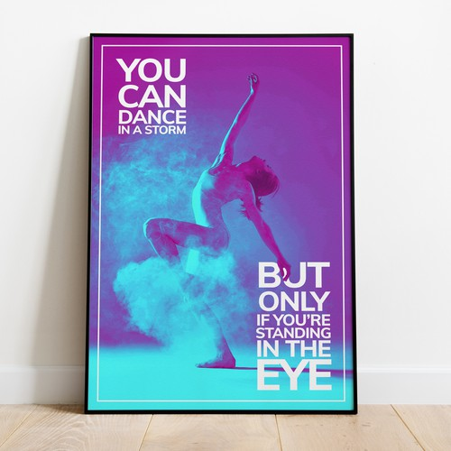Custom Poster Design for Dancing