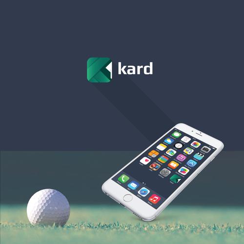 Golf scorecard logo