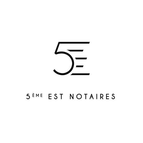 LOGOTYPE - 5ème EST NOTAIRES
