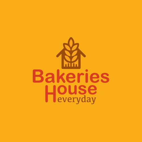 Simple logo for Bakery