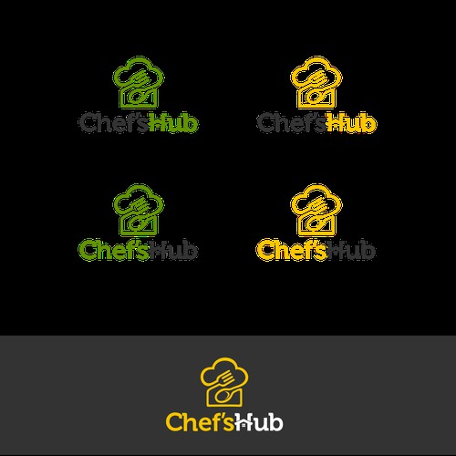 Logo for food delivery.