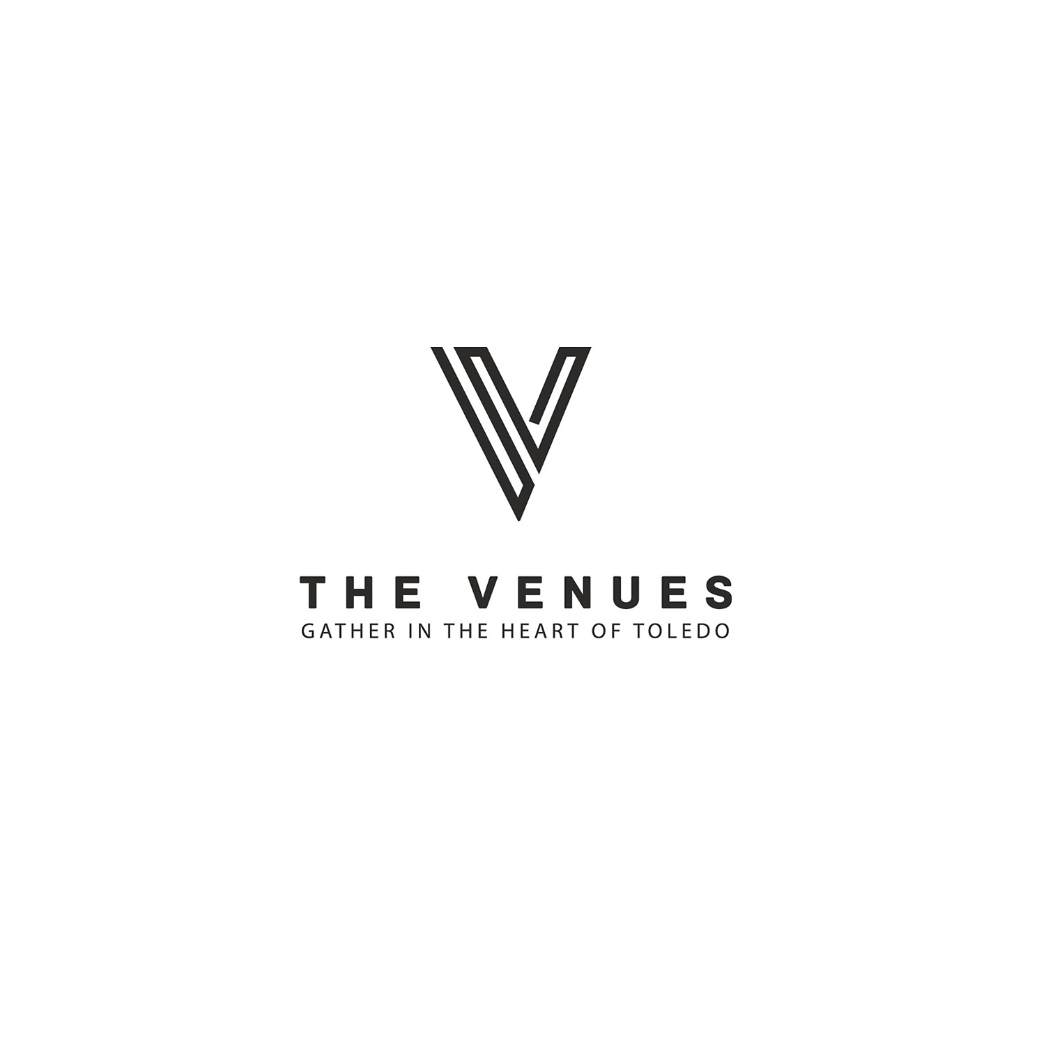 """Creat a new brand with vintage feel for """"The Venues"""" event space."""