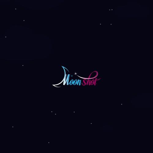 Logo concept for moon shot