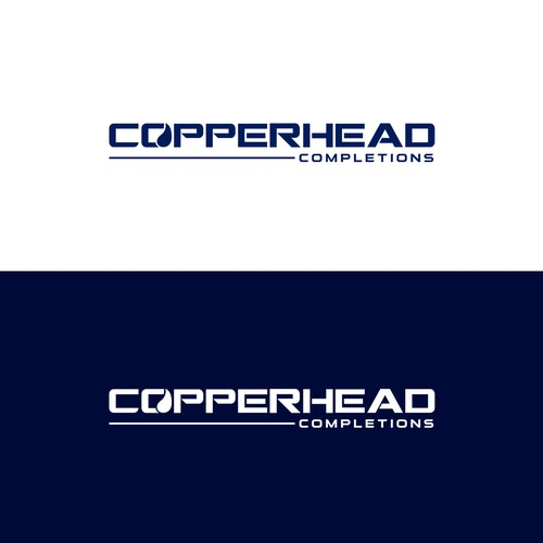 Modern logo design concept for Copperhead Completions