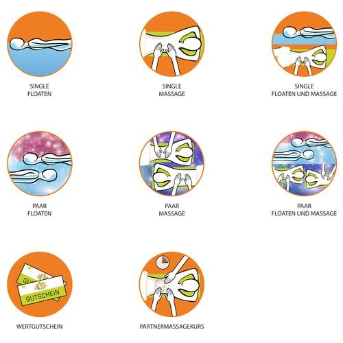 Icons für Webseite - Icons for the website of tranxx.de