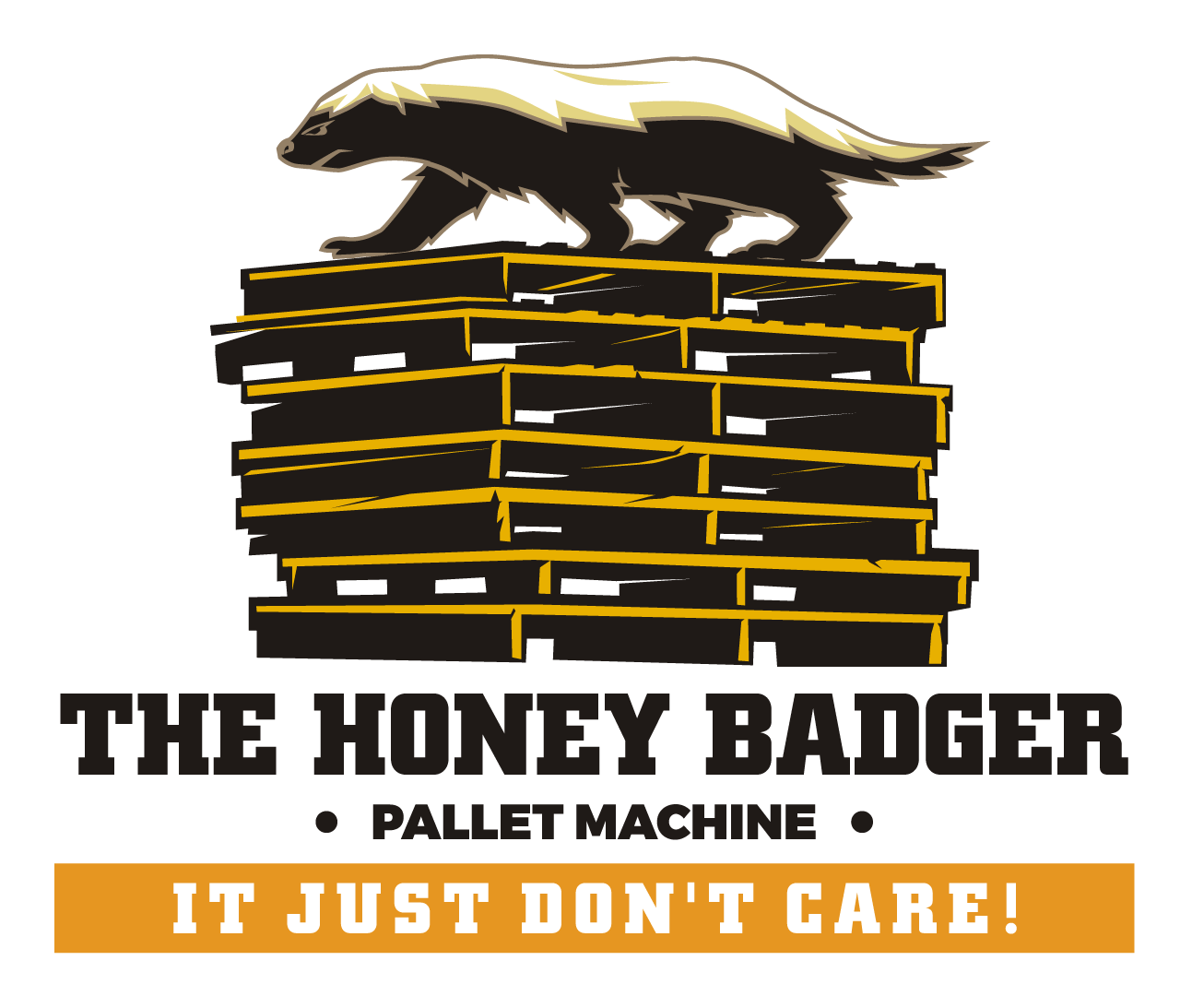 Honey Badger Recycled Pallet Nailing Machine