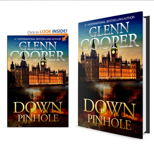 Create a book cover for a #1 international bestselling author!