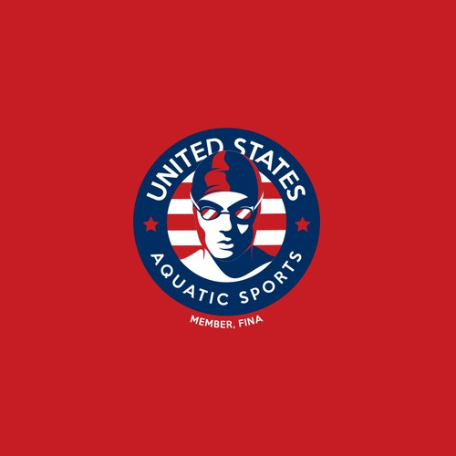 Logo design for the United States Aquatic Team