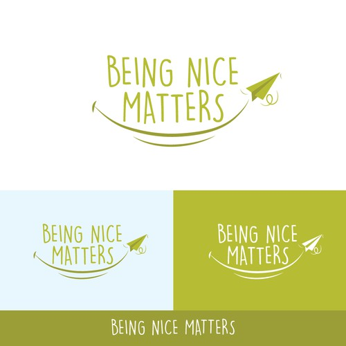 Create an impactful logo to kickoff the BEING NICE MATTERS movement. Make a difference today