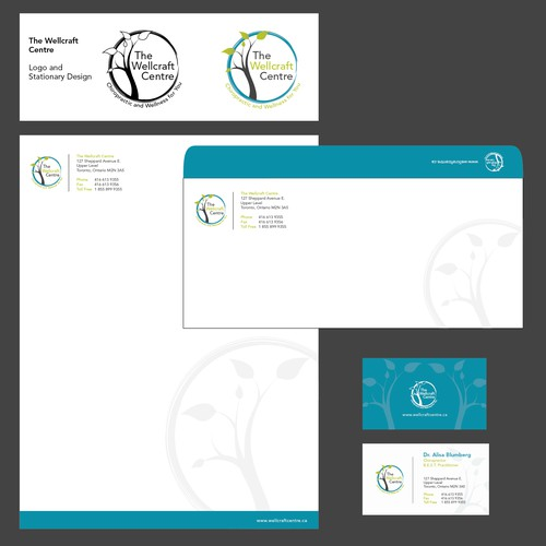 Stationery for The Wellcraft Centre
