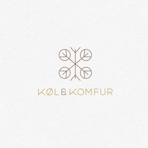 Minimalist logo concept for high-end retail store