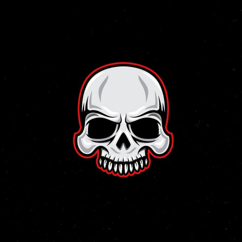 Edgy logo for gaming streaming page.