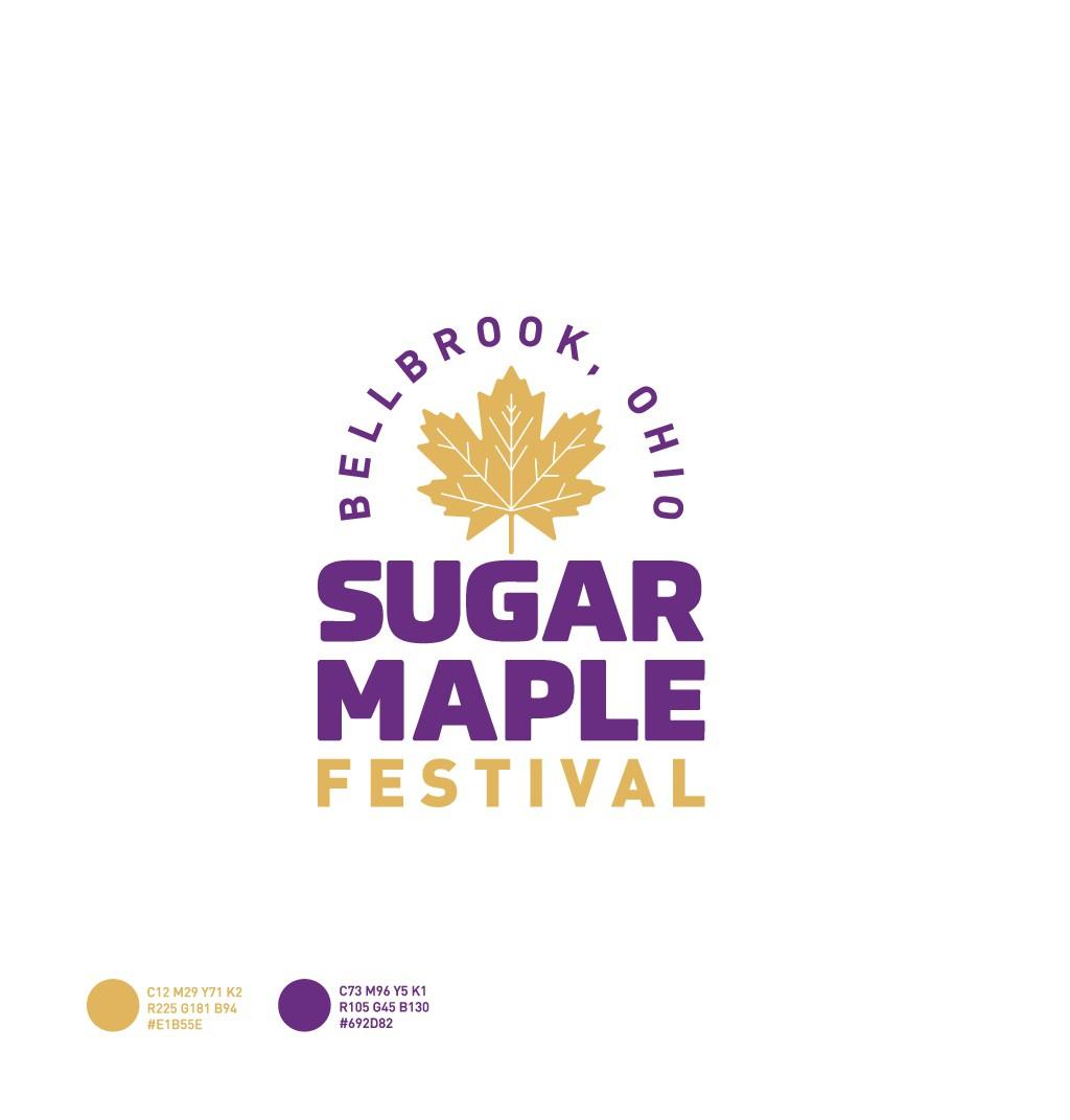 Small town festival logo