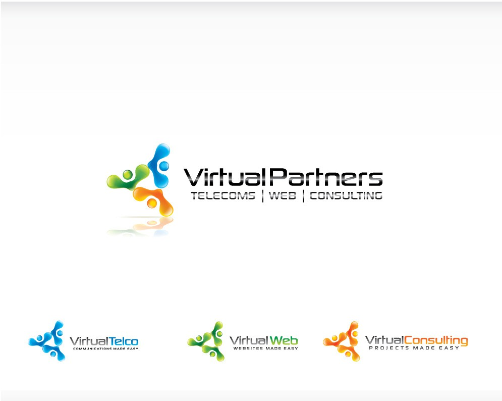 Logo for Virtual Partners (Telecoms / Web / Consulting)