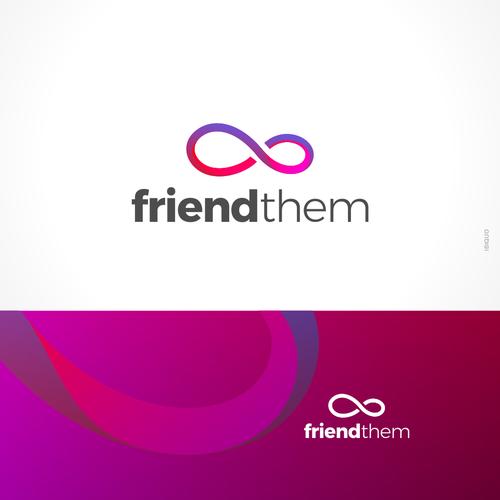 Friend them - Logo design