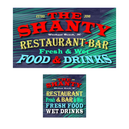 Fresh & Wet Shanty logo