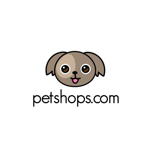 Playful Logo for Pet Store Locator