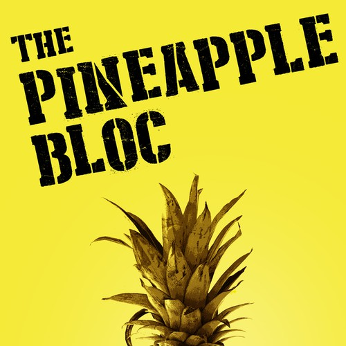ebook cover  ' The Pineapple Bloc'