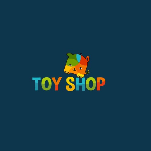 Colourful, playful and original logo for the Toy Store