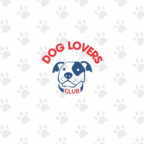 Dog Lovers Club Logo Concept