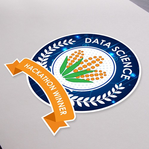 Data Science Hackathon Winners Sticker
