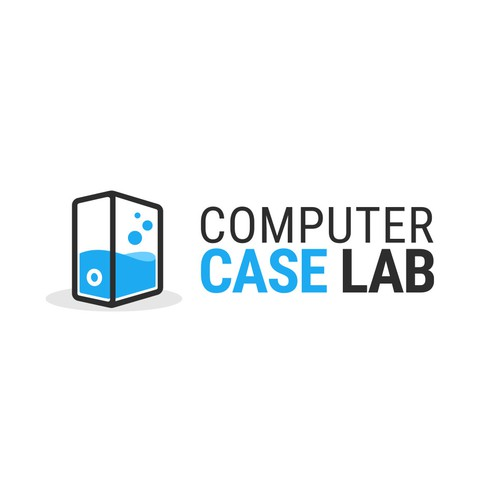 Computer case review website logo