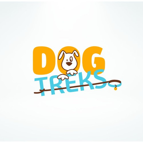 Logo design for a fun and Modern Dog walking business