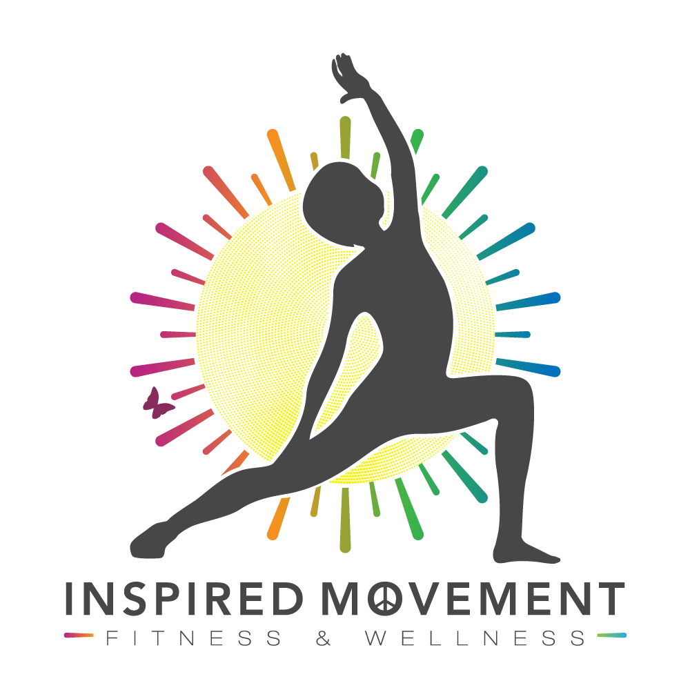 Design a creative kid friendly logo for Inspired Movement youth yoga & fitness.