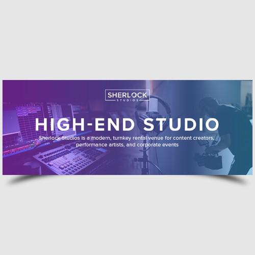 Sherlock Studio Facebook Header