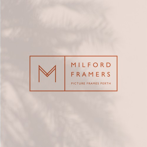 Minimal and Simple design for Milford Framers.