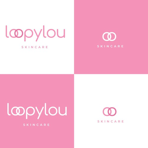 Skincare logo for Loopylou
