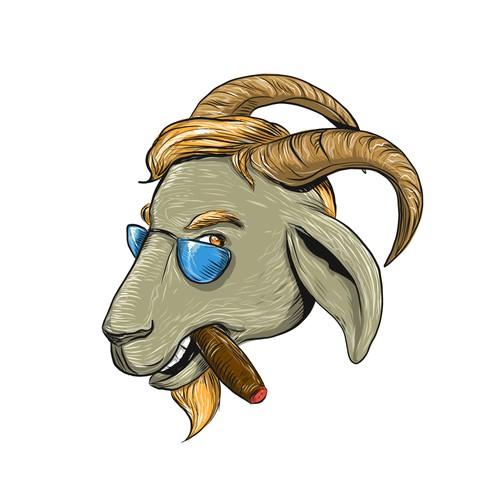 High Quality Goat Avatar