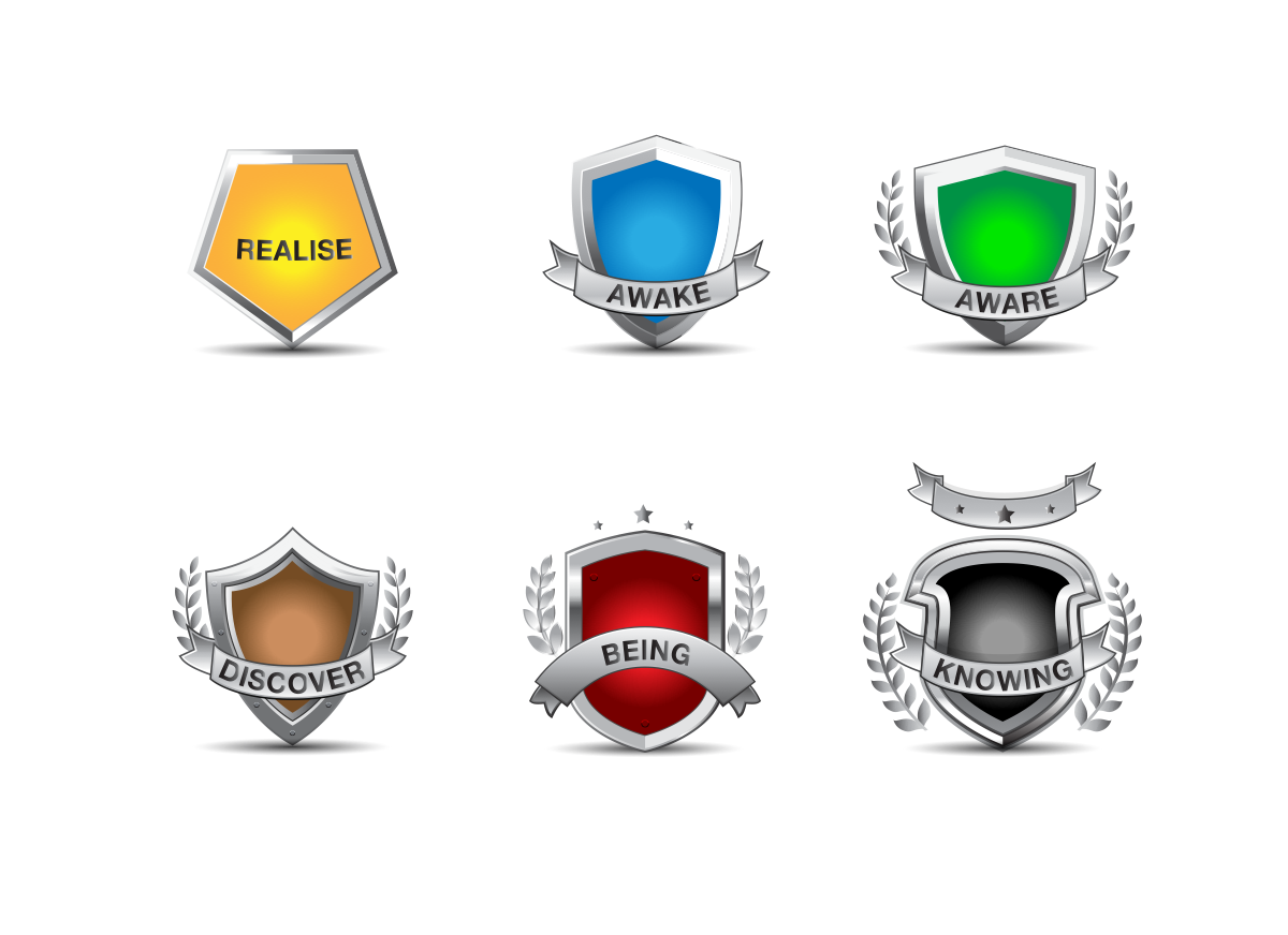 A Series of Award Icons