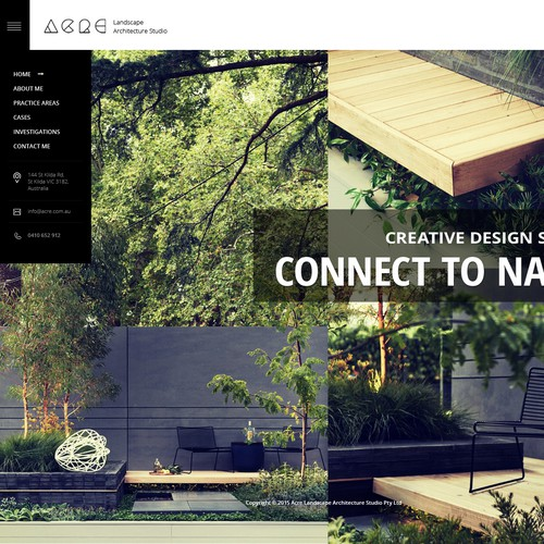 Architectural Website