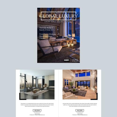 Real Estate Magazine Layout