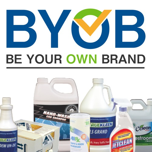 BYOB, Be Your Own Brand logo